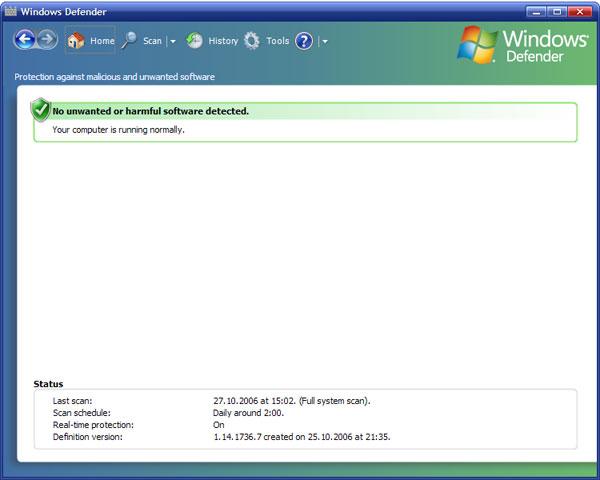 microsoft windows defender 7.0.1593 final